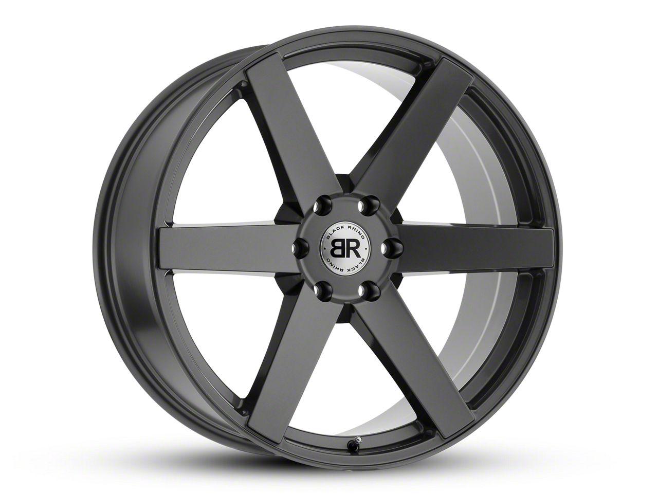 Black Rhino Karoo Gloss Gunmetal 6-Lug Wheel - 20x9.5 (99-18 Silverado 1500)