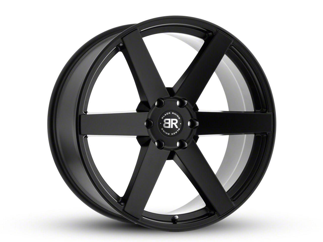 Black Rhino Karoo Matte Black 6-Lug Wheel - 20x9.5 (99-18 Silverado 1500)