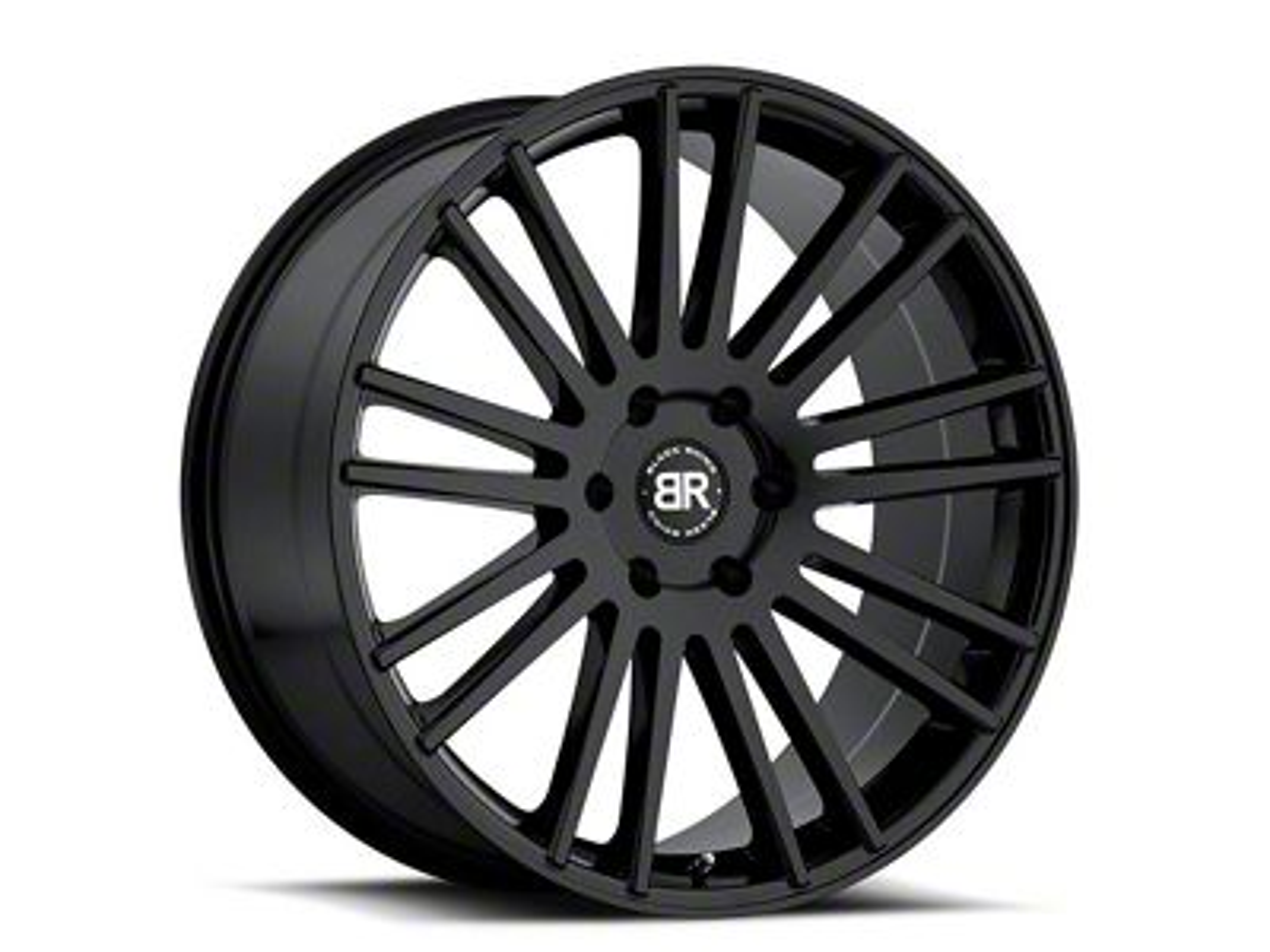 Black Rhino Kruger Gloss Black 6-Lug Wheel - 18x8.5 (99-18 Silverado 1500)