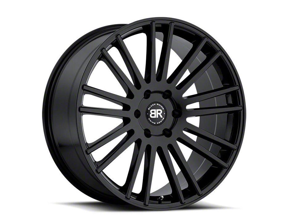 Black Rhino Kruger Gloss Black 6-Lug Wheel - 20x9 (99-18 Silverado 1500)