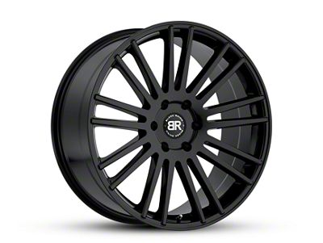 Black Rhino Kruger Gloss Black 6-Lug Wheel - 22x9.5 (99-18 Silverado 1500)