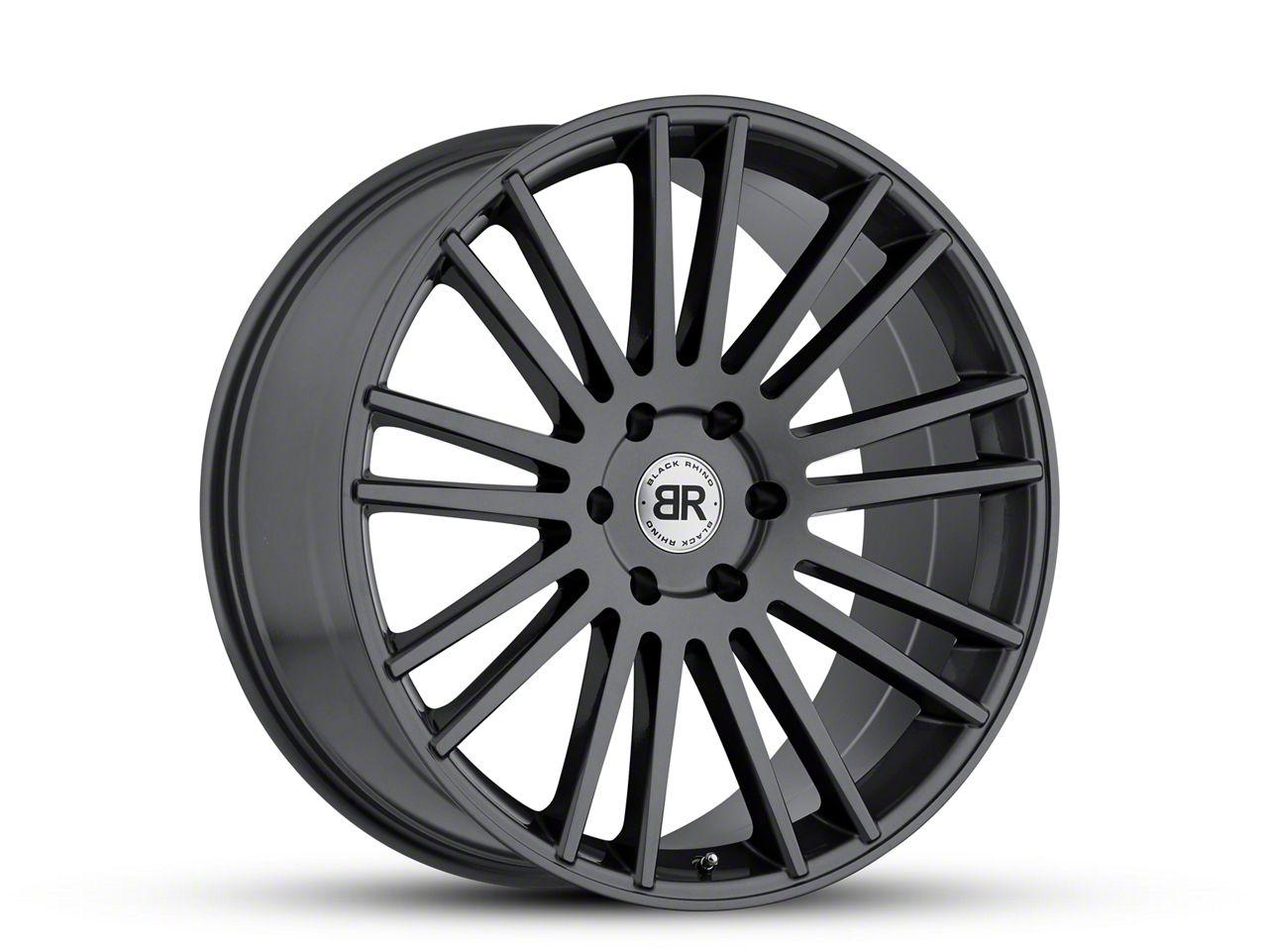 Black Rhino Kruger Gloss Gunmetal 6-Lug Wheel - 20x9 (99-18 Silverado 1500)