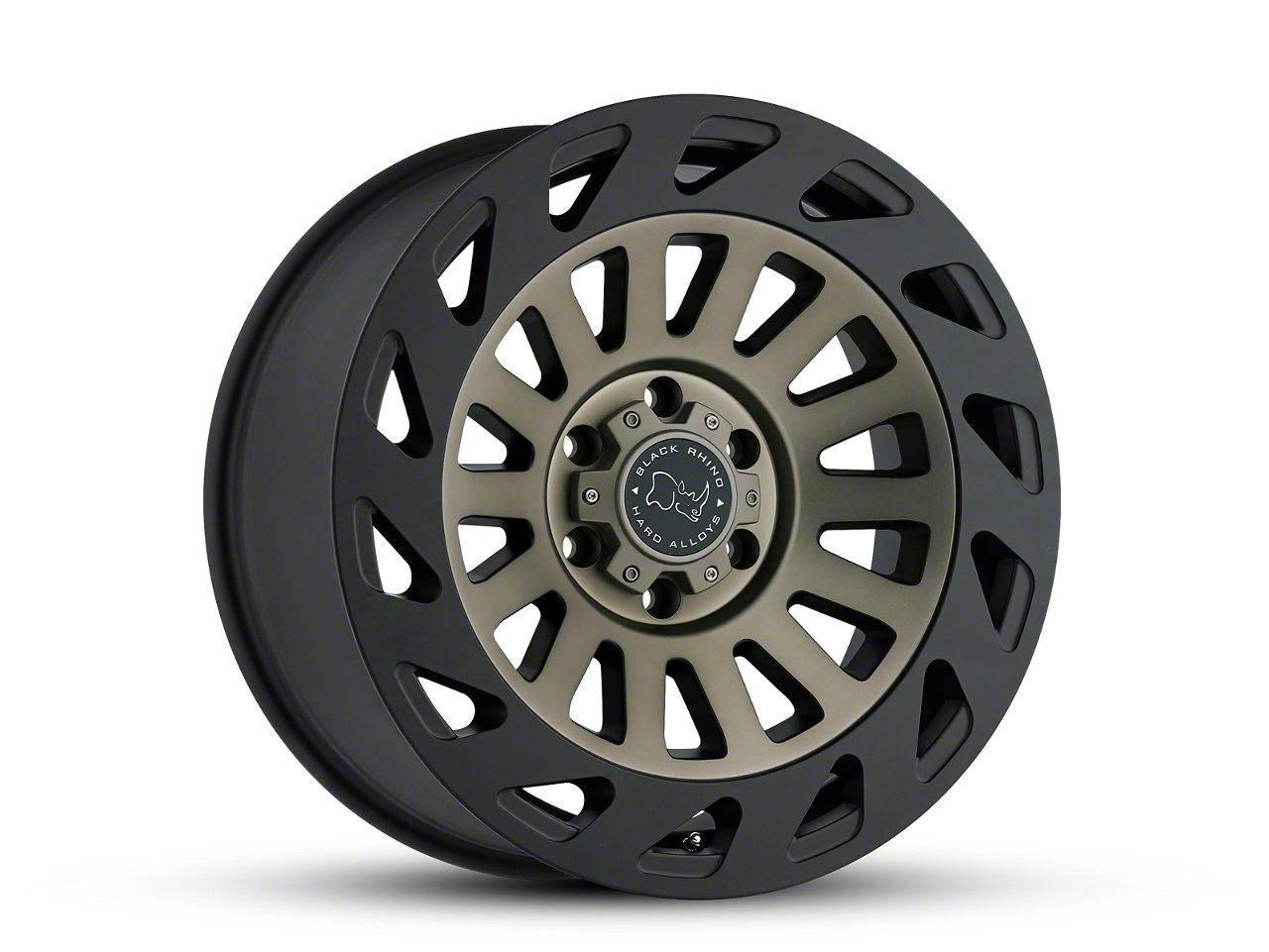 Black Rhino Madness Dark Tint Machined 6-Lug Wheel - 20x9 (99-18 Silverado 1500)