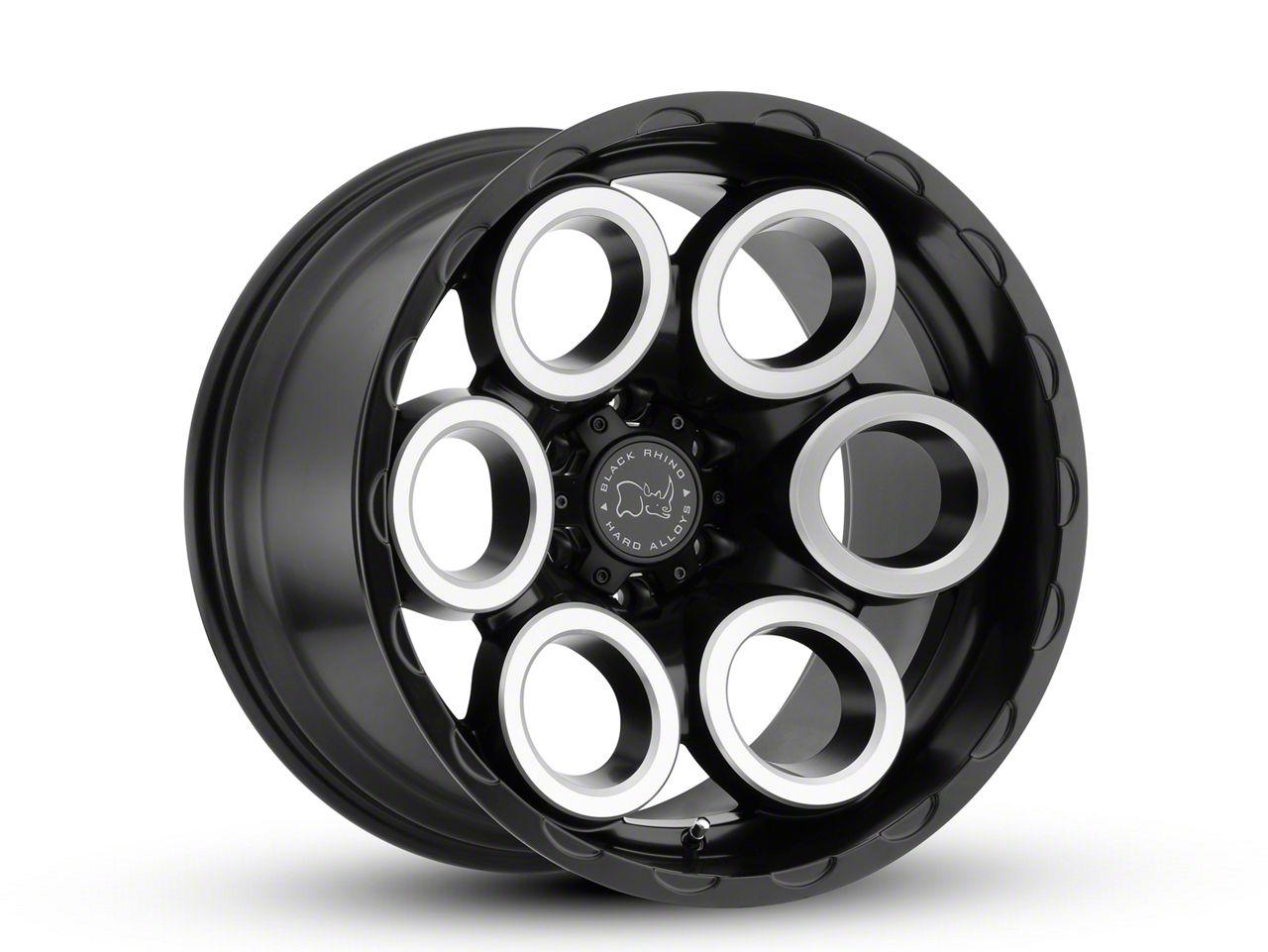 Black Rhino Magnus Matte Black Machined 6-Lug Wheel - 18x9.5 (99-18 Silverado 1500)