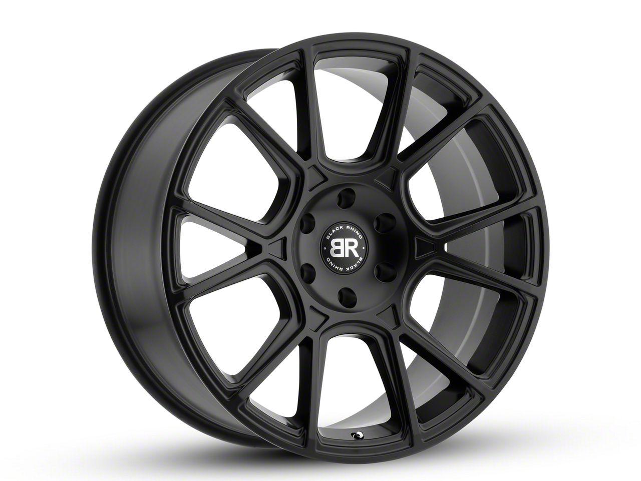 Black Rhino Mala Matte Black 6-Lug Wheel - 20x9.5 (99-18 Silverado 1500)
