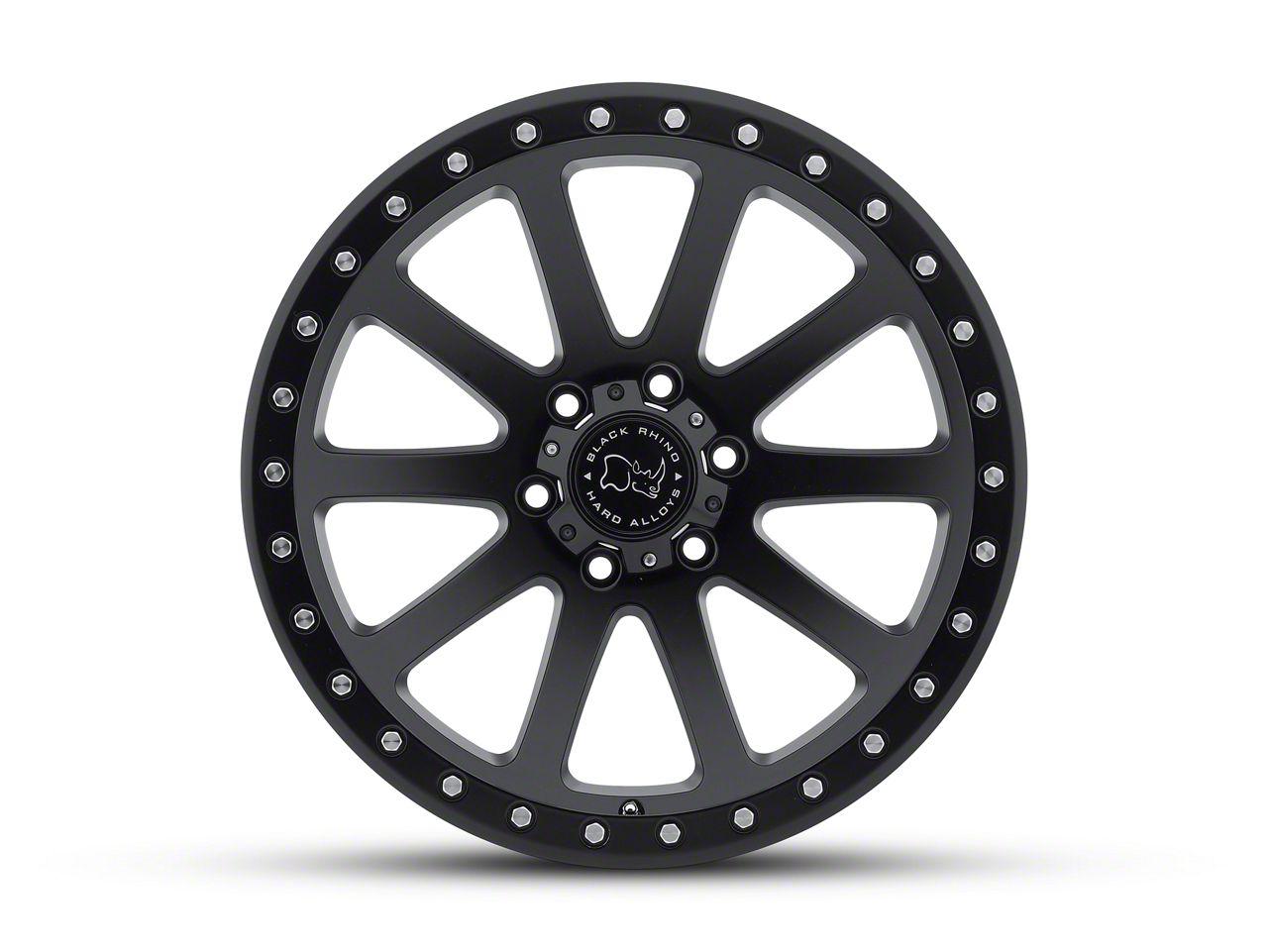 Black Rhino Mint Matte Black 6-Lug Wheel - 17x9 (99-18 Silverado 1500)