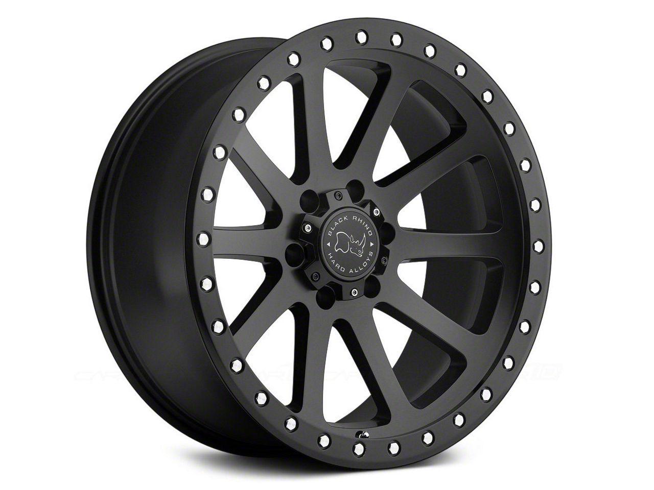 Black Rhino Mint Matte Black 6-Lug Wheel - 20x10 (99-18 Silverado 1500)