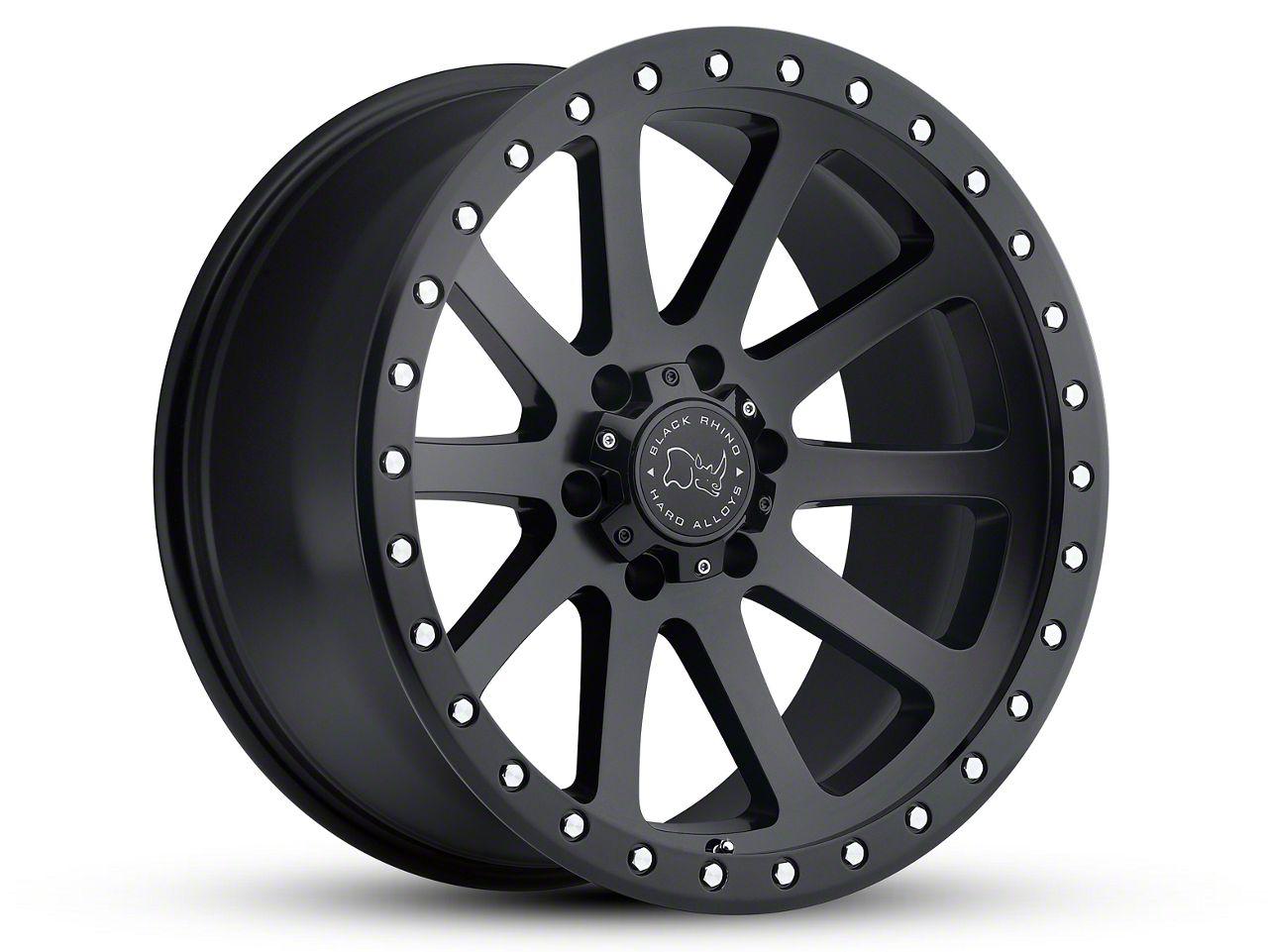 Black Rhino Mint Matte Black 6-Lug Wheel - 20x9 (99-18 Silverado 1500)