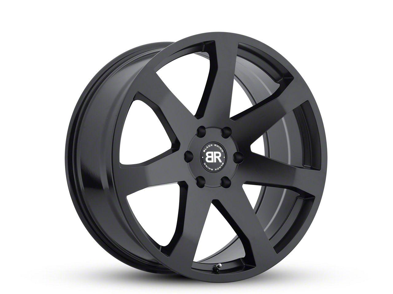 Black Rhino Mozambique Matte Black 6-Lug Wheel - 22x9.5 (99-18 Silverado 1500)