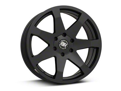 Black Rhino Mozambique Matte Black 6-Lug Wheel - 20x8.5 (99-18 Silverado 1500)