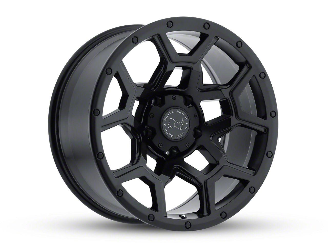 Black Rhino Overland Matte Black 6-Lug Wheel - 18x9.5 (99-18 Silverado 1500)