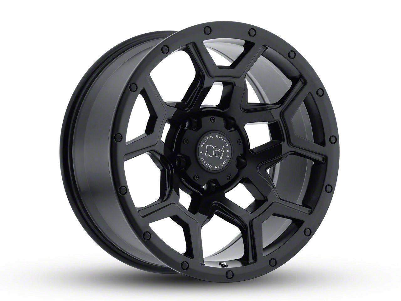 Black Rhino Overland Matte Black 6-Lug Wheel - 20x9.5 (99-18 Silverado 1500)
