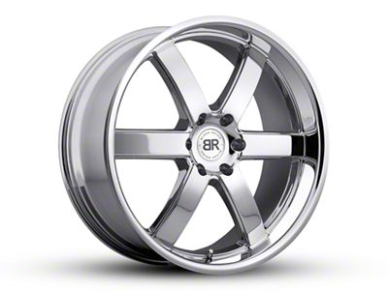 Black Rhino Pondora Chrome 6-Lug Wheel - 20x8.5 (99-18 Silverado 1500)