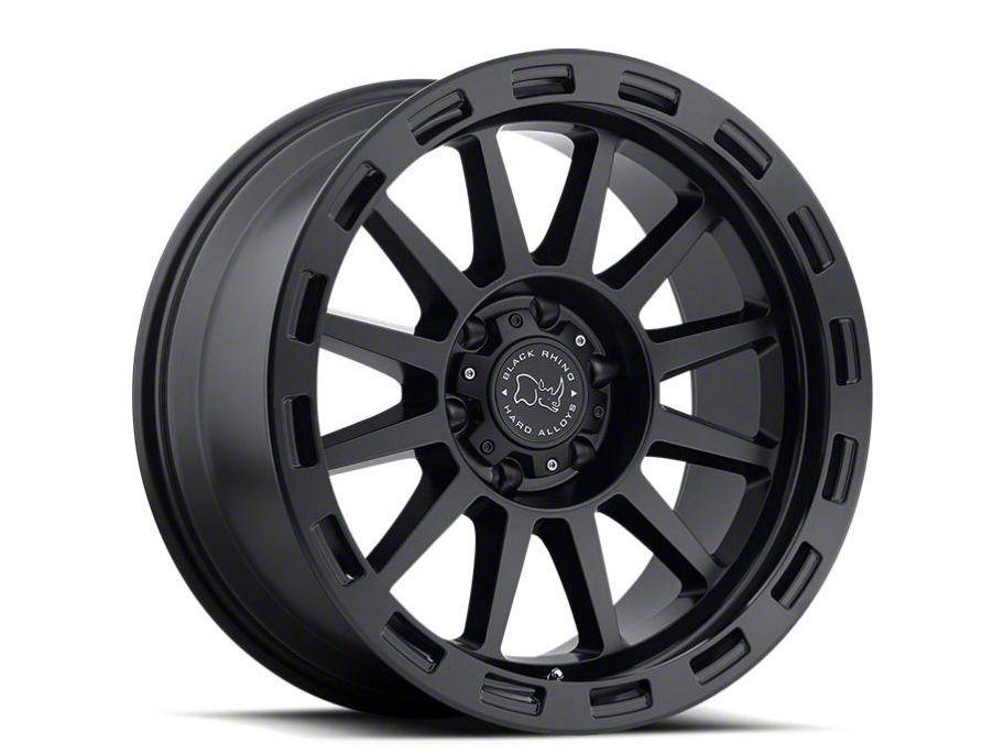 Black Rhino Revolution Matte Black 6-Lug Wheel - 17x9 (99-18 Silverado 1500)
