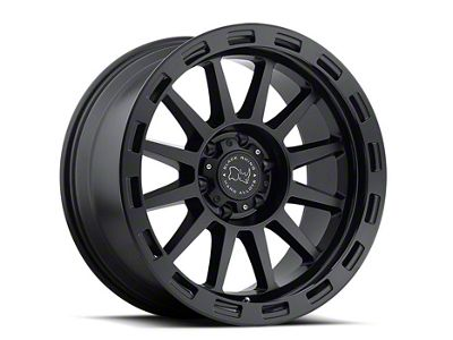 Black Rhino Revolution Matte Black 6-Lug Wheel - 18x9 (99-18 Silverado 1500)