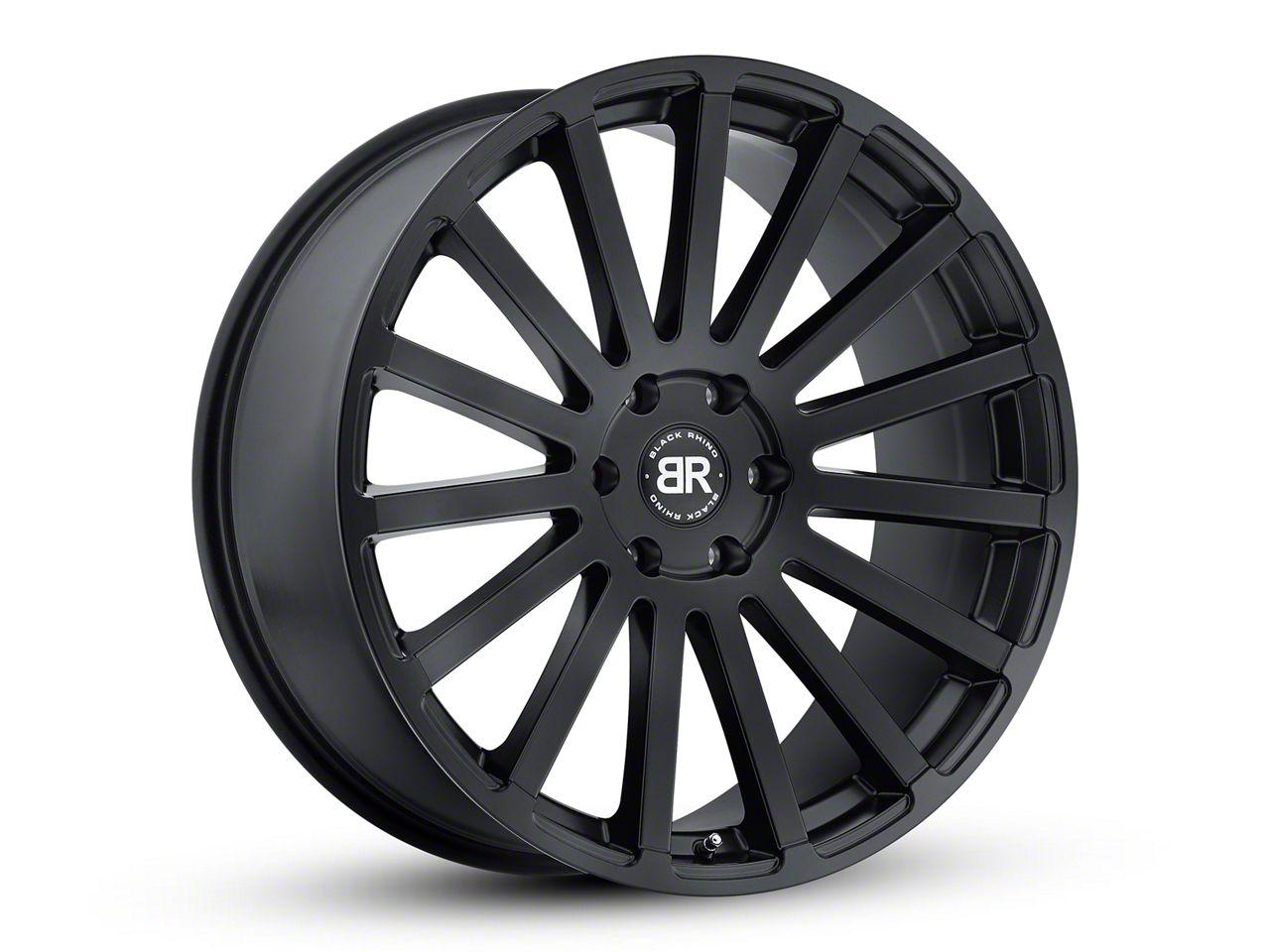 Black Rhino Spear Matte Black 6-Lug Wheel - 20x9 (99-18 Silverado 1500)
