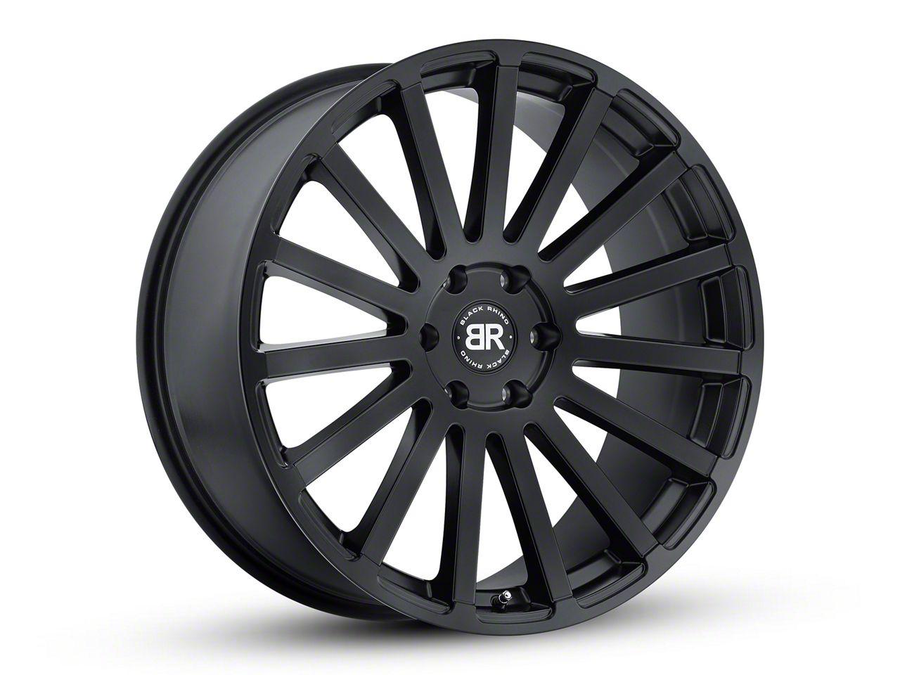 Black Rhino Spear Matte Black 6-Lug Wheel - 24x10 (99-18 Silverado 1500)