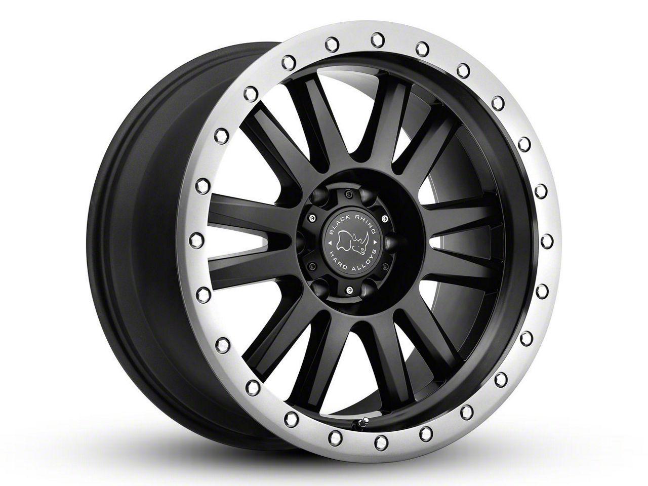 Black Rhino Tanay Matte Black Graphite 6-Lug Wheel - 17x9 (99-18 Silverado 1500)