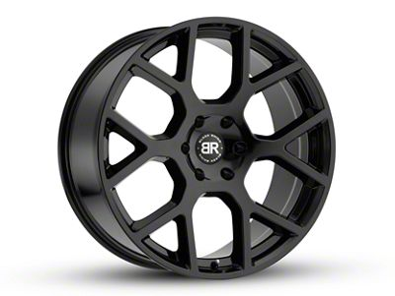 Black Rhino Tembe Gloss Black 6-Lug Wheel - 20x9 (99-18 Silverado 1500)
