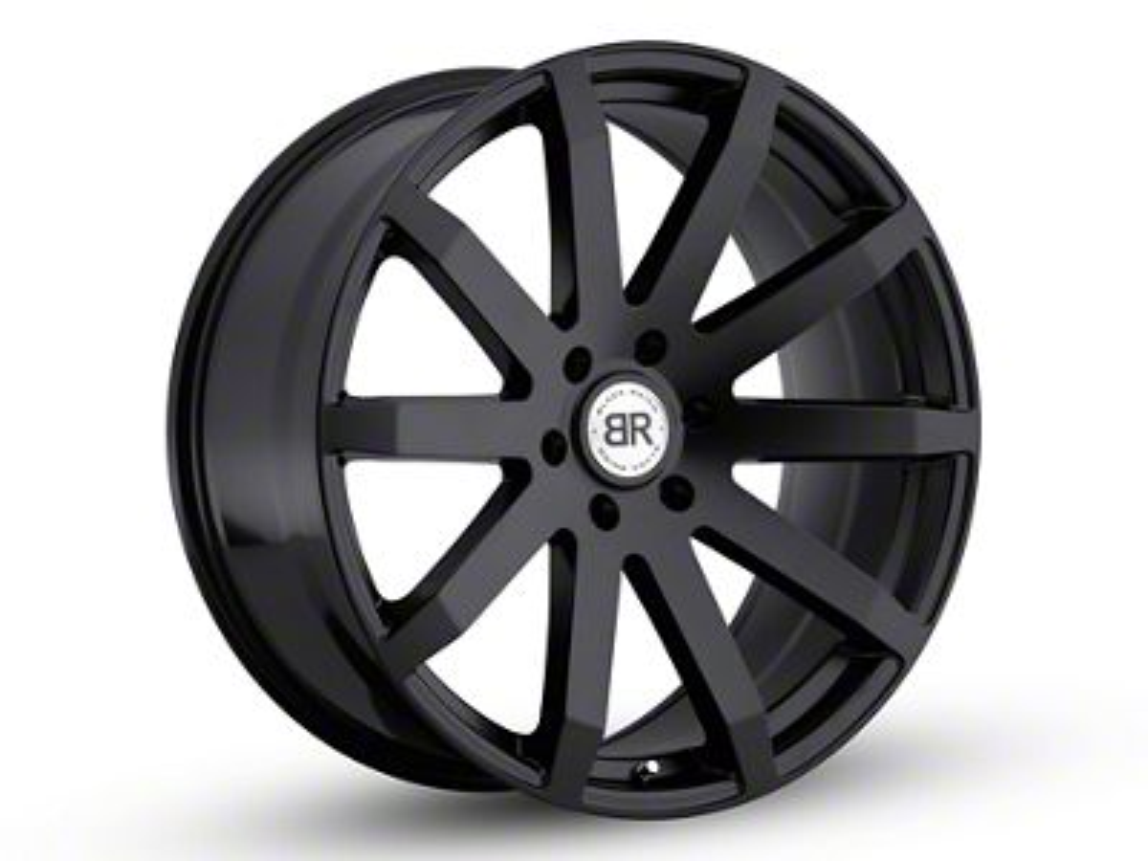 Black Rhino Traverse Matte Black 6-Lug Wheel - 24x10 (99-18 Silverado 1500)