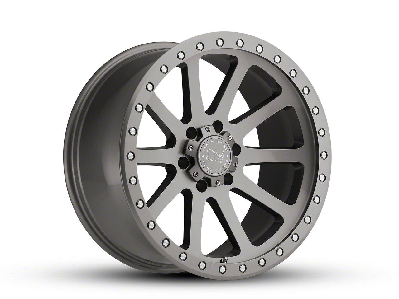 Black Rhino Mint Gloss Graphite 6-Lug Wheel - 20x9 (99-18 Silverado 1500)