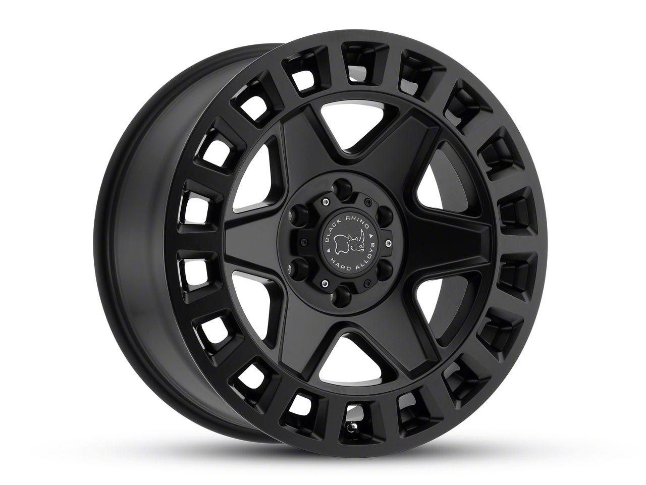 Black Rhino York Matte Black 6-Lug Wheel - 17x9 (99-18 Silverado 1500)