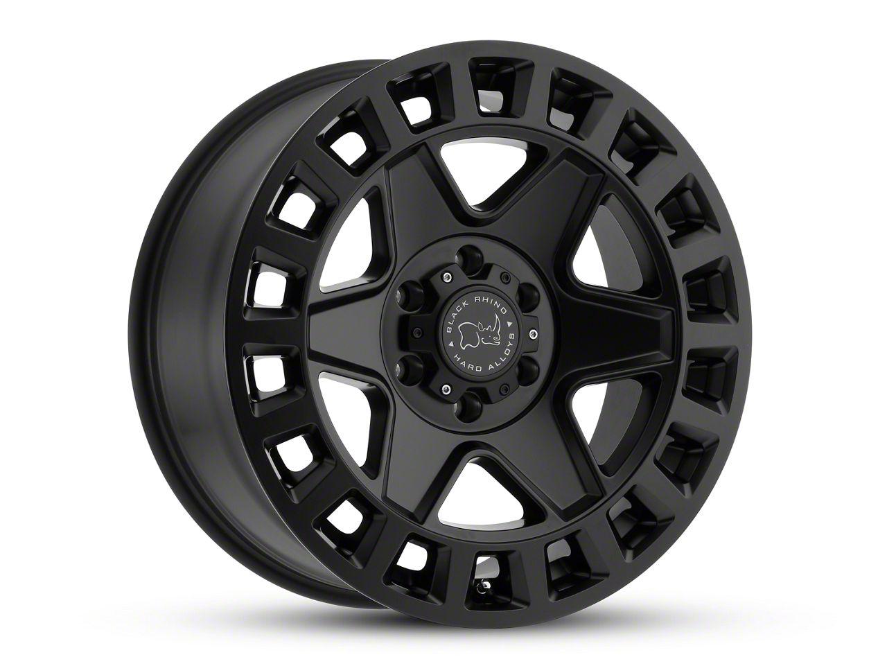 Black Rhino York Matte Black 6-Lug Wheel - 18x9 (99-18 Silverado 1500)