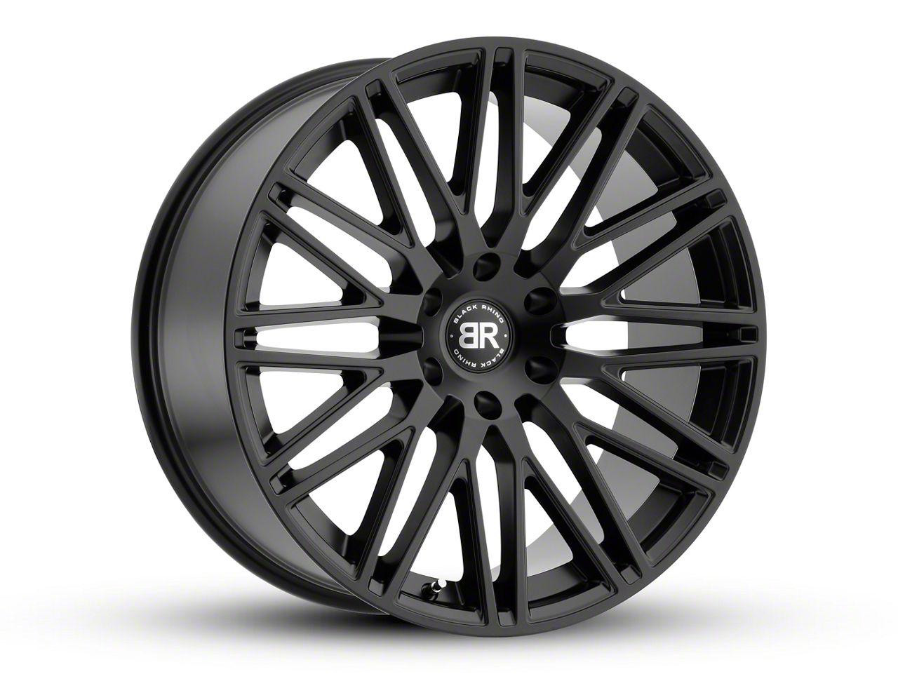 Black Rhino Zulu Matte Black 6-Lug Wheel - 20x9.5 (99-18 Silverado 1500)