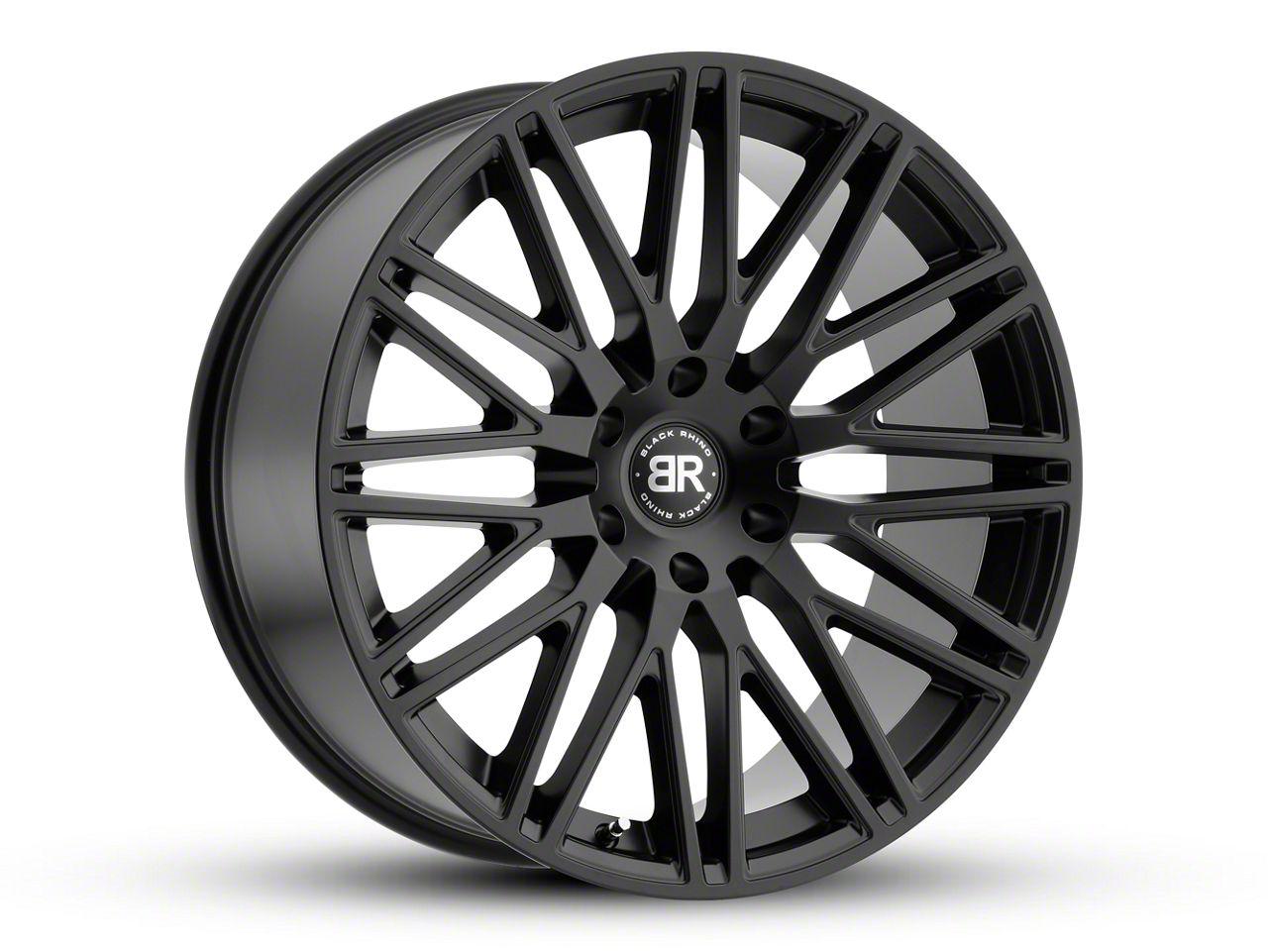 Black Rhino Zulu Matte Black 6-Lug Wheel - 22x10 (99-18 Silverado 1500)