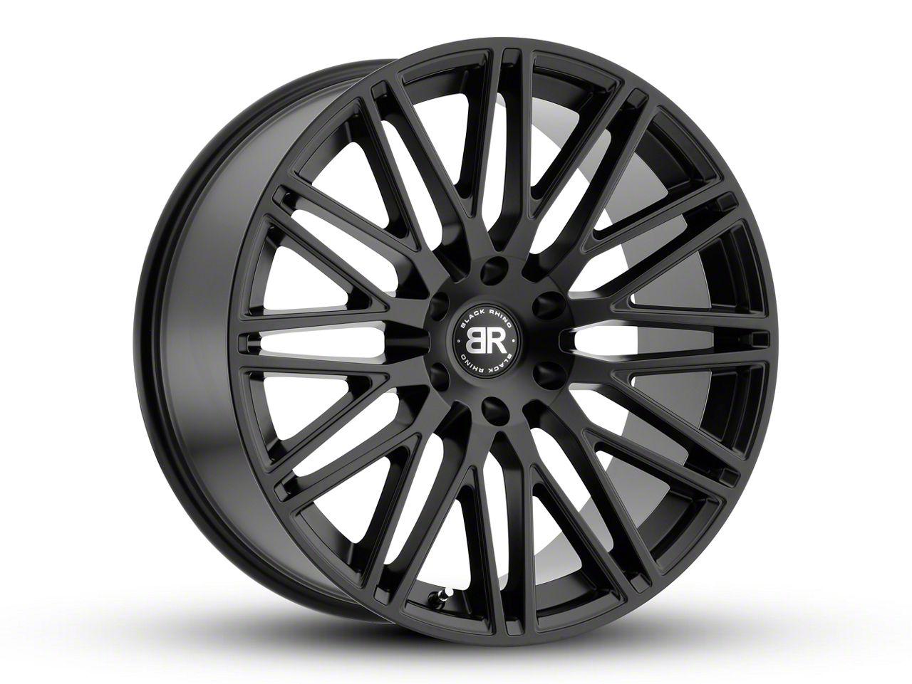 Black Rhino Zulu Matte Black 6-Lug Wheel - 24x10 (99-18 Silverado 1500)