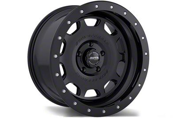 SOTA Off Road D.R.T. Stealth Black 6-Lug Wheel - 17x8.5 (99-18 Silverado 1500)