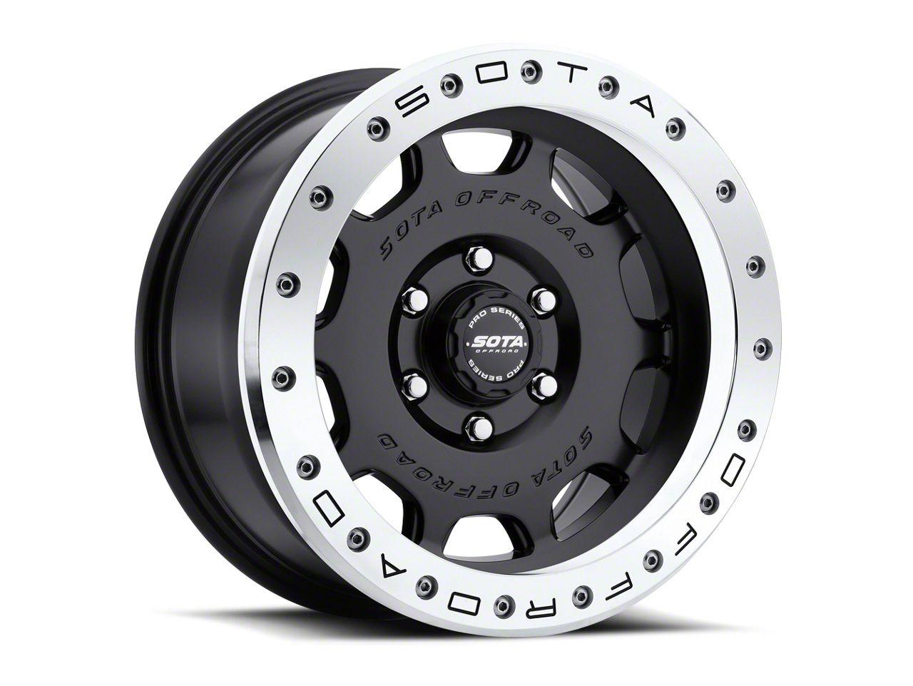 SOTA Off Road D.R.T. Stealth Black 6-Lug Wheel - 20x10 (99-18 Silverado 1500)