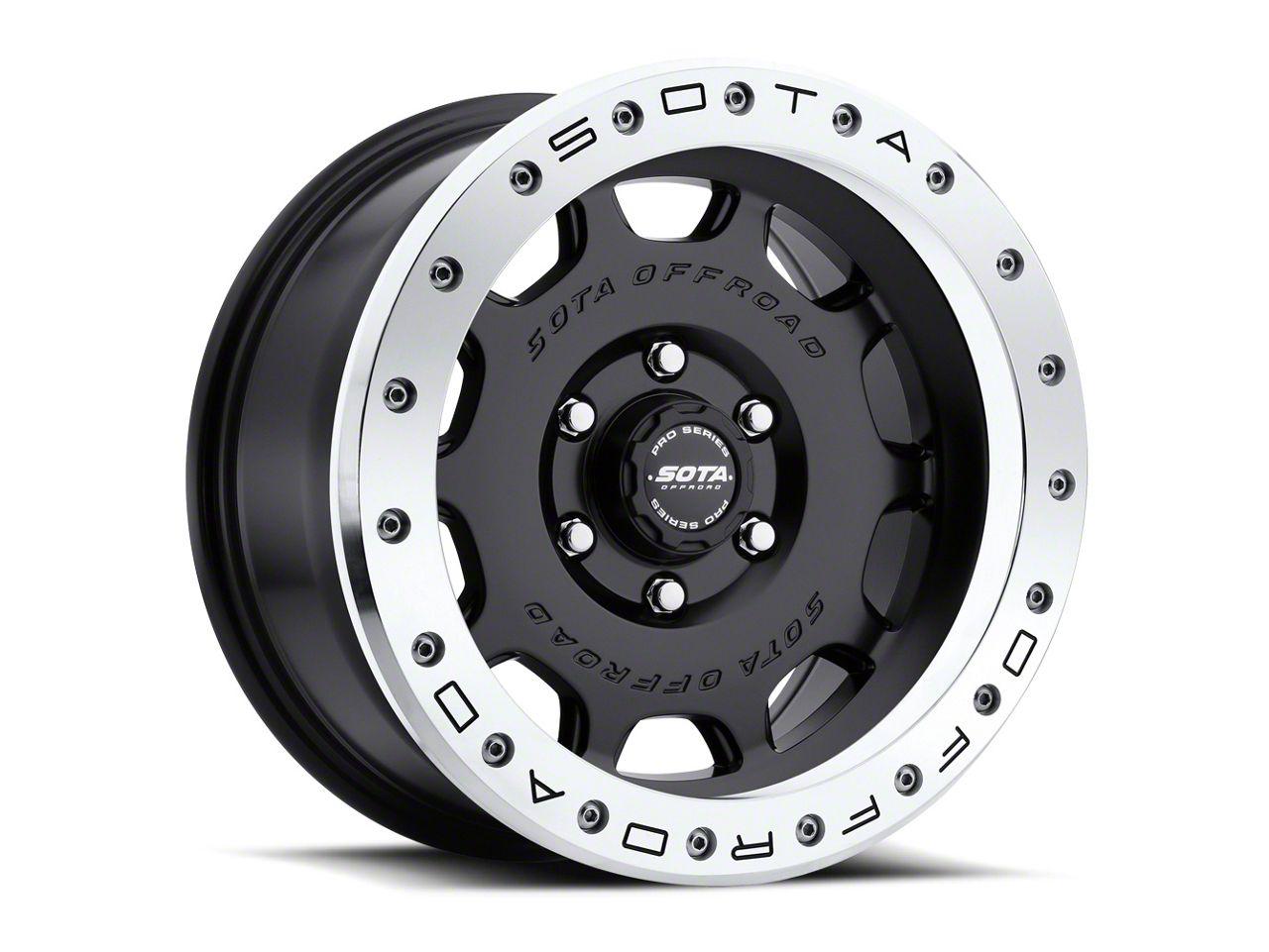 SOTA Off Road D.R.T. Stealth Black 6-Lug Wheel - 20x9 (99-18 Silverado 1500)