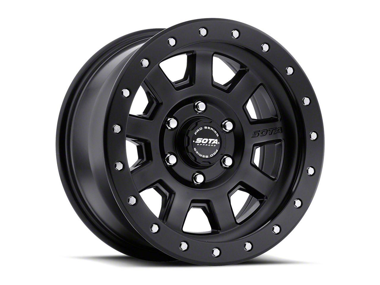 SOTA Off Road S.S.D. Stealth Black 6-Lug Wheel - 17x8.5 (99-18 Silverado 1500)