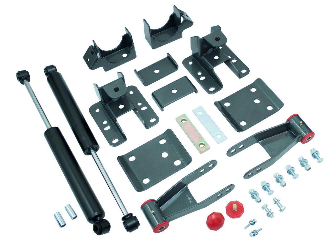 Max Trac 3-4 in. Adjustable Rear Flip Kit w/ Max Trac Shocks (07-13 Silverado 1500)