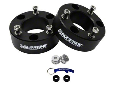 Supreme Suspensions 3 in. Pro Billet Front Strut Spacer Leveling Kit (07-18 Silverado 1500)