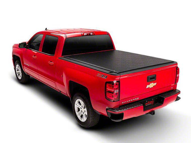 Truxedo Lo Pro Invis-A-Rack Roll-Up Tonneau Cover (14-18 Silverado 1500 w/ Dee Zee Invis-A-Rack)