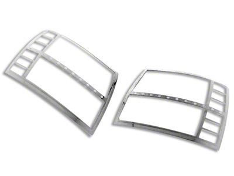 Black Horse Off Road Headlight Bezels - Chrome (07-13 Silverado 1500)