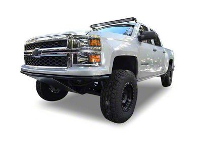 Black Horse Off Road 50 in. G-Series LED Light Bar Roof Mounting Brackets (14-18 Silverado 1500)
