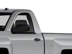 Black Horse Off Road Door Handle Covers - Chrome (14-18 Silverado 1500)