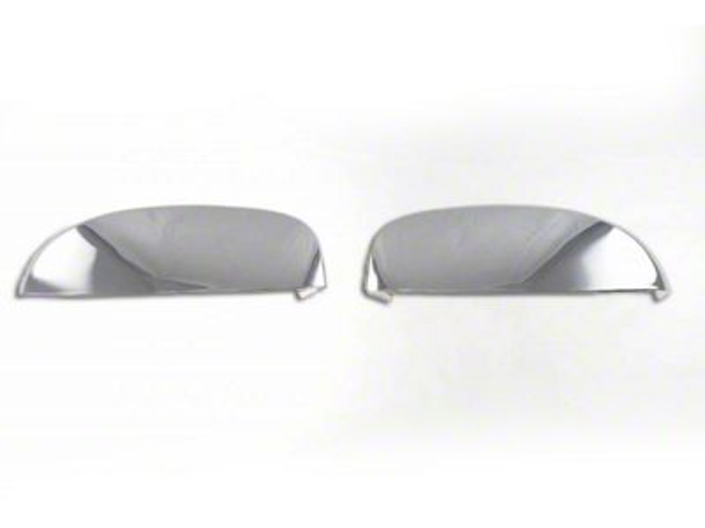 Black Horse Off Road Upper Mirror Covers - Chrome (07-13 Silverado 1500)