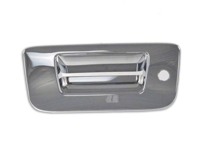 Black Horse Off Road Tailgate Handle Cover - Chrome (07-13 Silverado 1500)