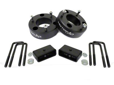 MotoFab 3 in. Front / 1 in. Rear Leveling Kit (07-18 Silverado 1500)