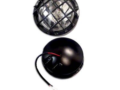 Black Horse Off Road 5 in. Round Black LED Lights - Fog Beam