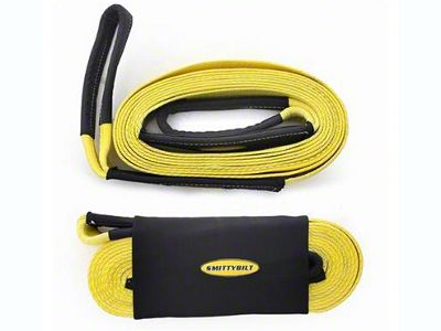 Smittybilt 4 in. x 20 ft. Recovery Tow Strap - 40,000 lb.