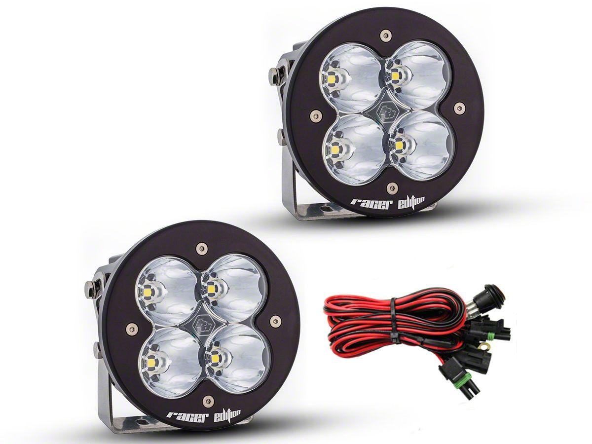 Baja Designs XL-R Racer Edition Round LED Lights - High Speed Spot Beam