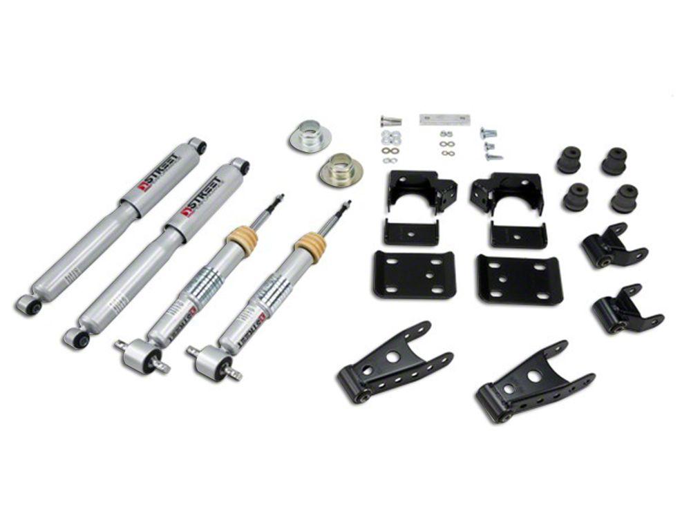 Belltech Lowering Kit w/ Street Performance Shocks - +1-2 in. Front / 2-3 in. Rear (07-13 Silverado 1500 w/ Short Box)