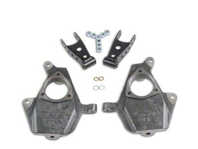 Belltech Lowering Kit - 2 in. Front / 2-3 in. Rear (07-13 Silverado 1500 w/ Short Box)