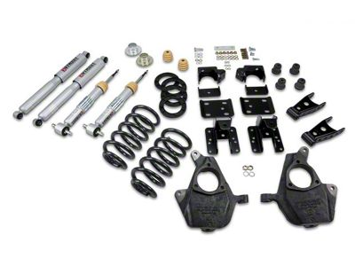 Belltech Lowering Kit - 3-4 in. Front / 5-6 in. Rear (07-13 2WD Silverado 1500 Regular Cab w/ Short Box)