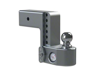 3 in. Receiver Hitch Adjustable Ball Mount w/ Built-In Scale - 6 in. Drop Hitch (99-18 Silverado 1500)